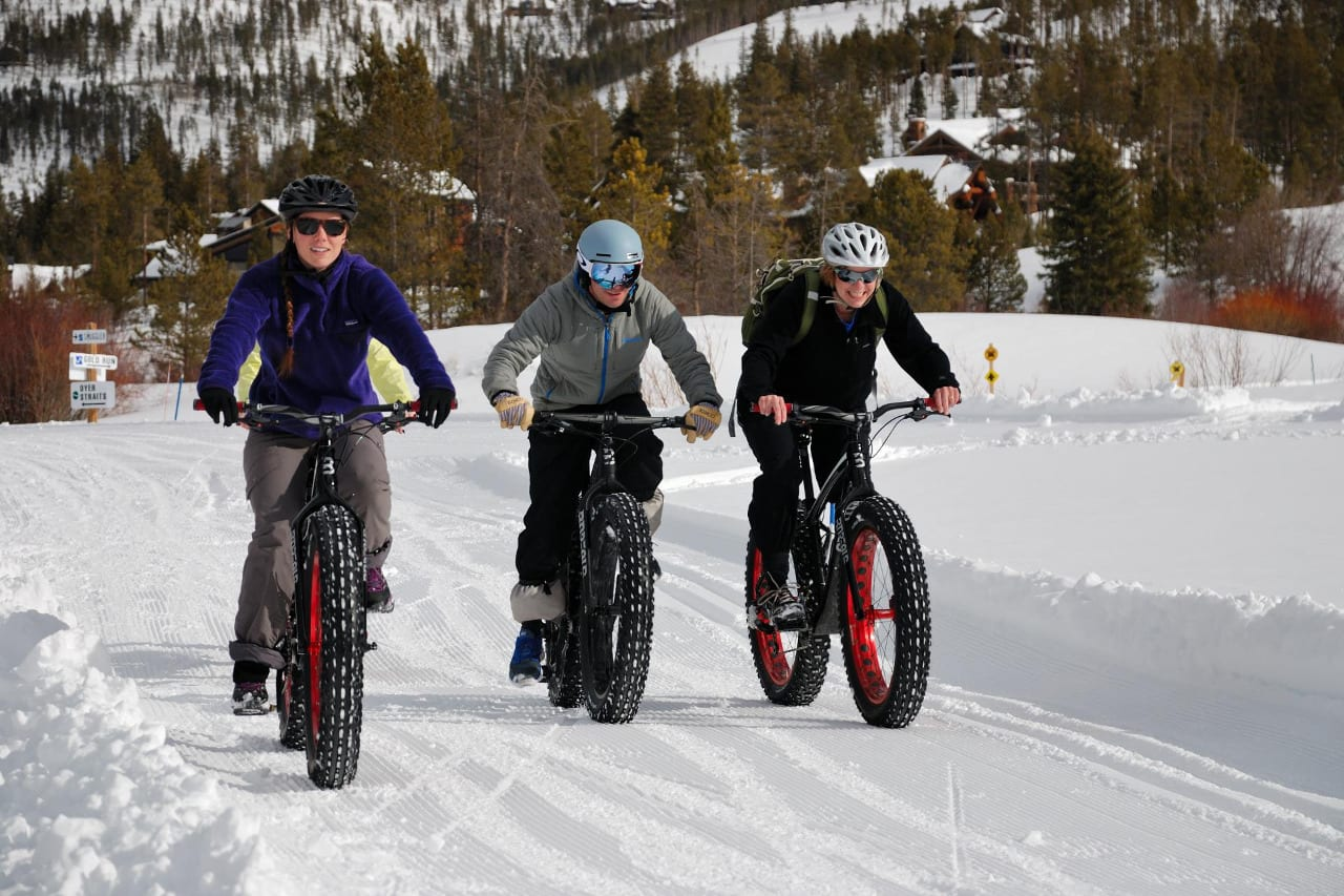 Gold Run Nordic Center Fat Bikes