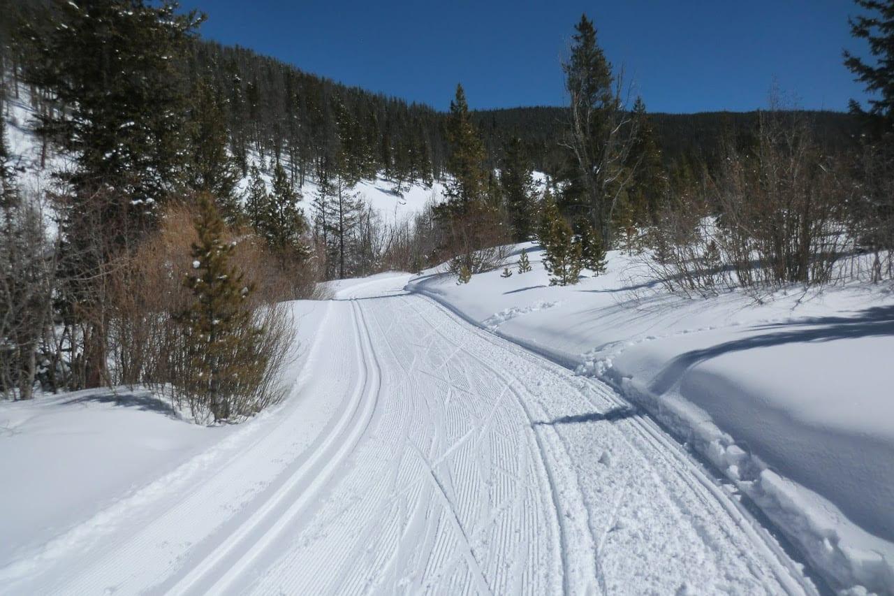 Gold Run Nordic Center Groomed Trail Breckenridge