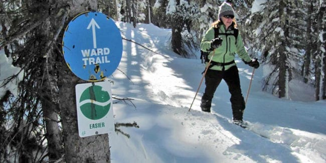 Grand Mesa Nordic Council Cross Country Skiing Ward Trail