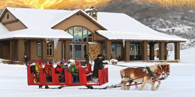 Haymaker Sleigh Ride Dinner Steamboat Springs