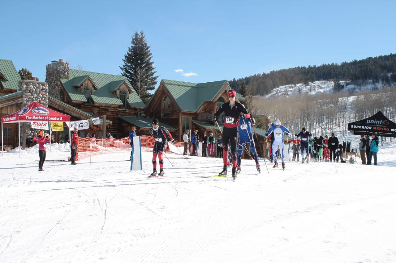 Home Ranch Cross Country Ski Race Colorado