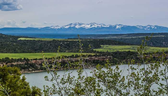 McPhee Reservoir Overlook Dolores Colorado