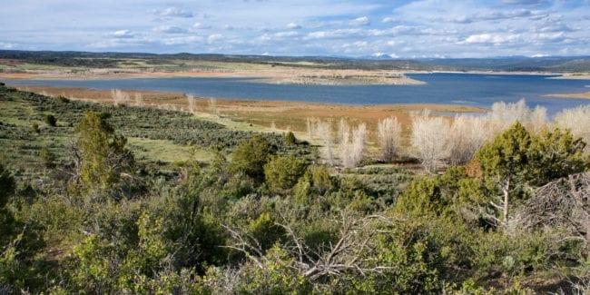 McPhee Reservoir West Side Dolores Colorado