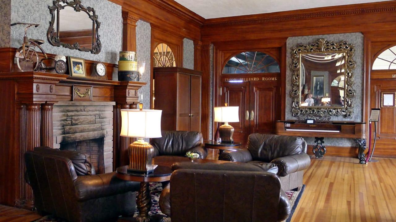 Stanley Hotel Estes Park Fireplace Lounge