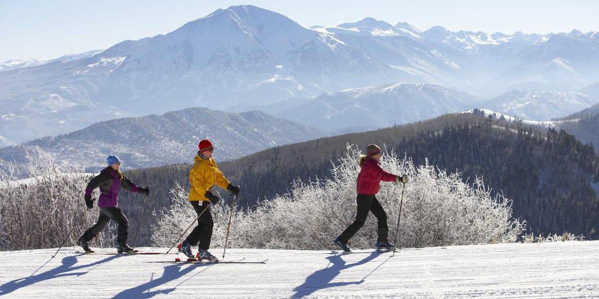 Sunlight Mountain Resort Cross Country Skiing Glenwood Springs