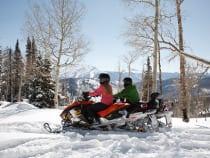 Sunlight Mountain Resort Snowmobile Tour