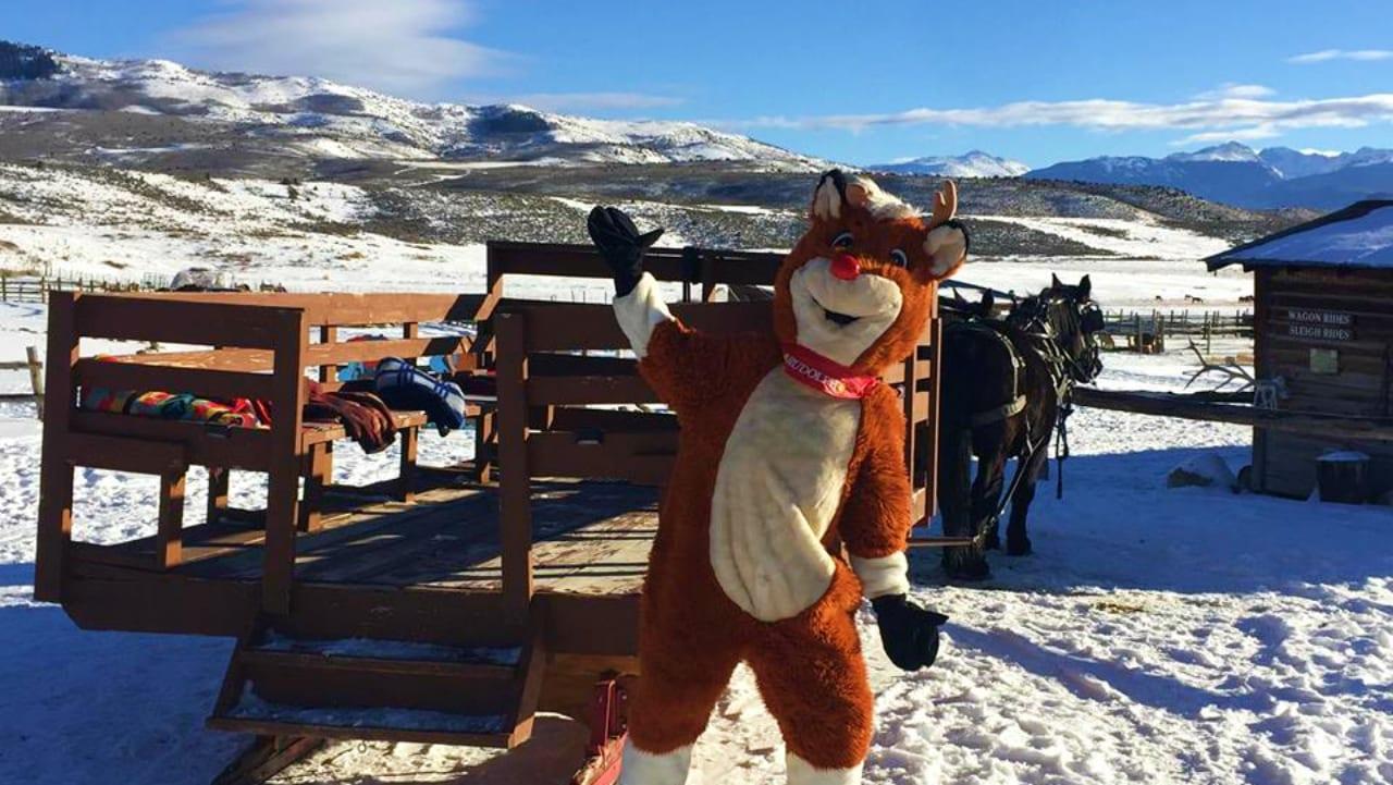 4 Eagle Ranch Sleigh Rudolph