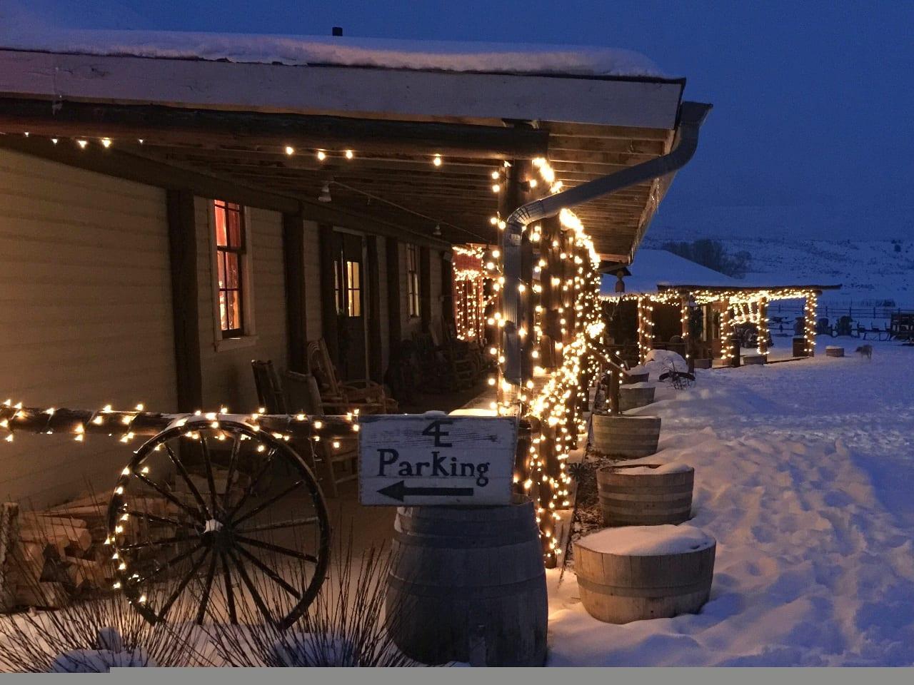 4 Eagle Ranch Wolcott Colorado Christmas Lights