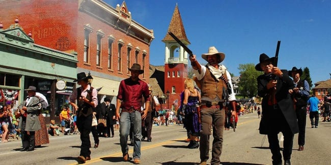 Leadville Boom Days Gun Fight