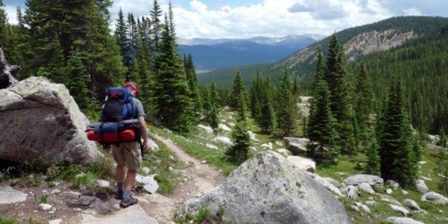 Colorado Trail Hiker