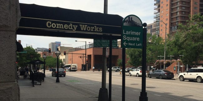 Comedy Works Denver Colorado