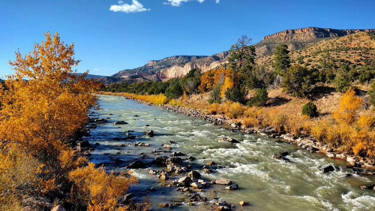 Continental Divide National Scenic Trail River