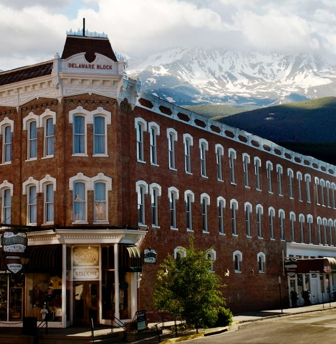 Delaware Hotel Leadville Mountains