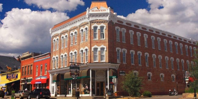 Delaware Hotel Leadville Colorado