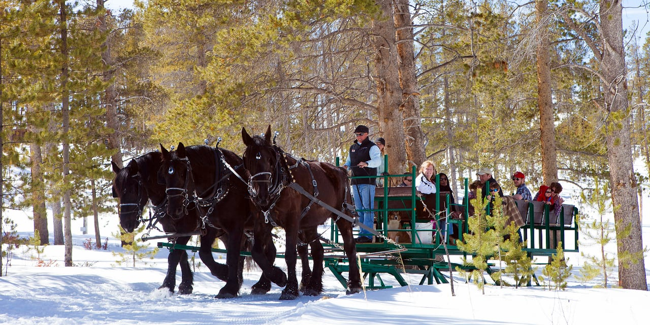 Devil's Thumb Ranch Sleigh Rides Tabernash Colorado