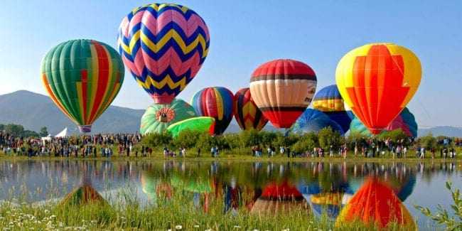 Hot Air Balloon Rodeo Steamboat Springs