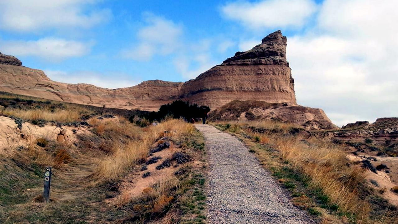 Pony Express National Historic Trail Hiking Trail In Northeast