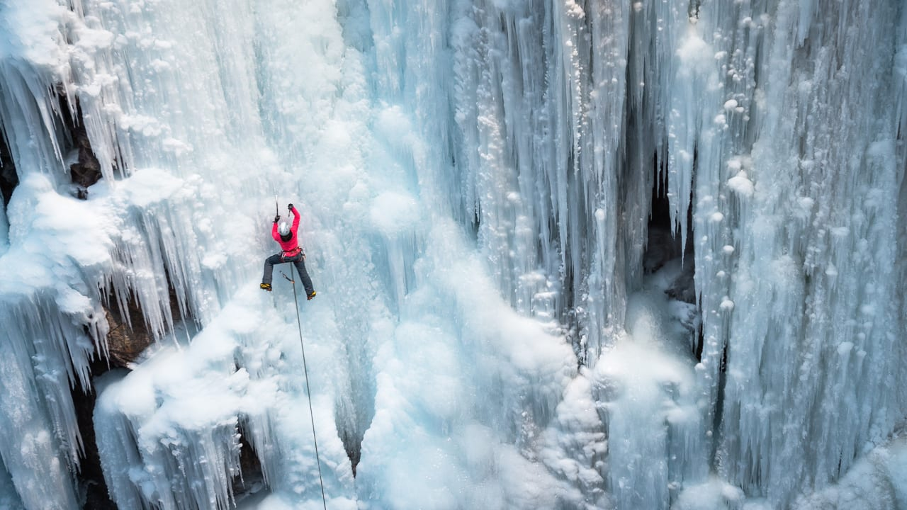 Ice Climbing Ouray Ice Park Colorado