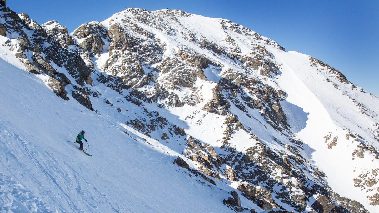 Arapahoe Basin Skiing East Wall