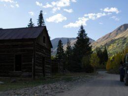 Animas Forks Ghost Town Alpine Loop Colorado