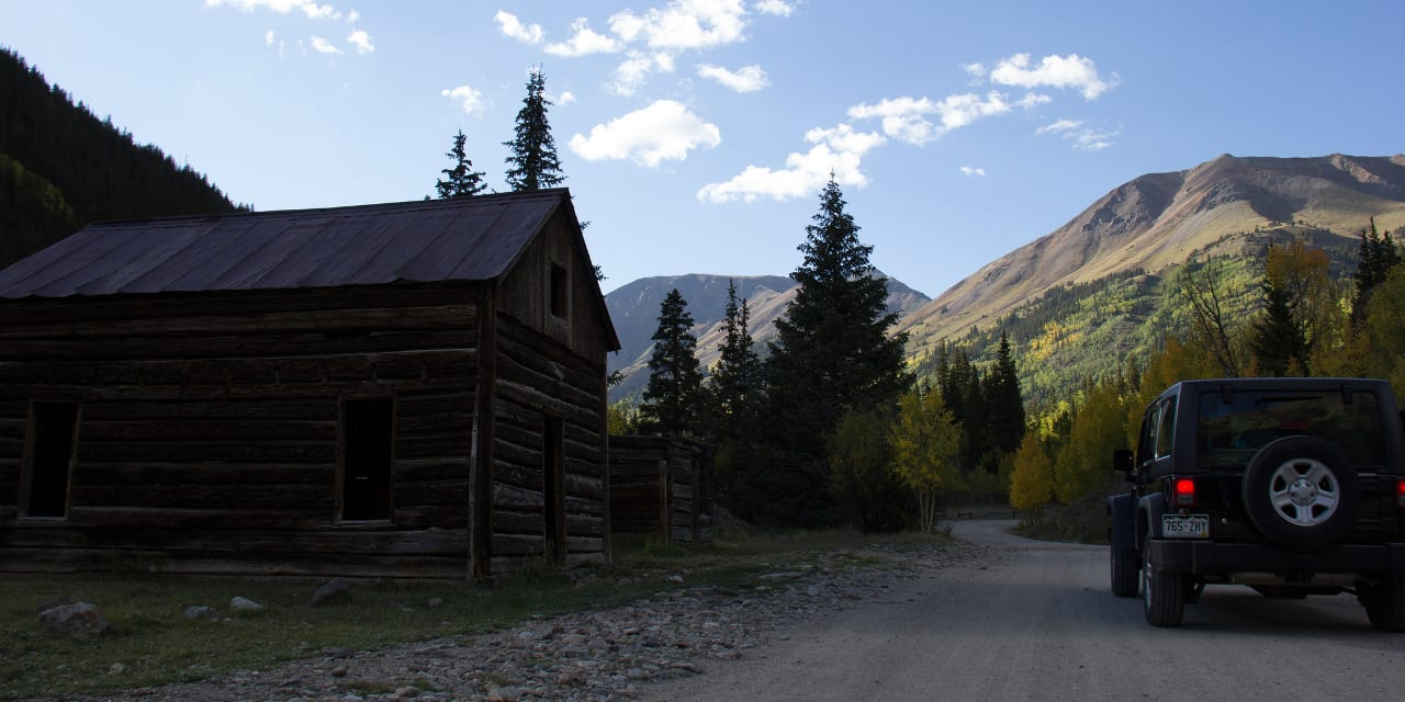 Animas Forks Ghost Town Alpine Loop Colorado