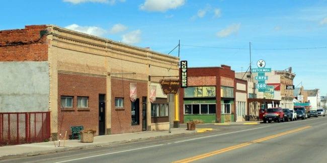 Downtown Antonito Colorado