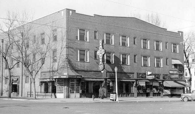 Armstrong Hotel Fort Collins Vintage 1940s