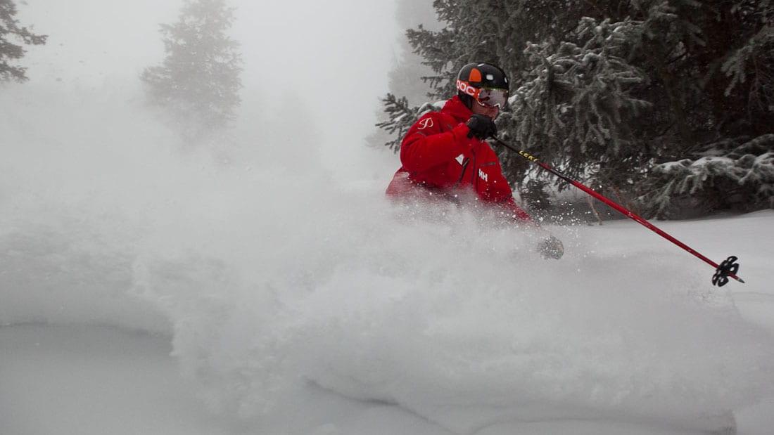 Aspen Mountain Ski Resort Powder Skier
