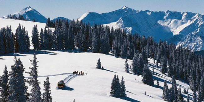 Aspen Powder Tours Snowcat Skiing Colorado