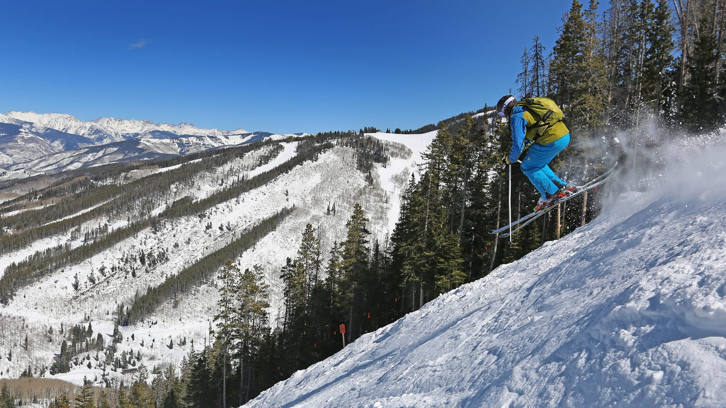 Beaver Creek Ski Resort Skier Jump