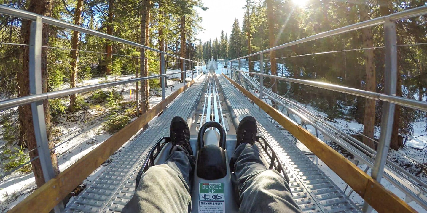 Breathtaker Alpine Coaster Aspen Colorado