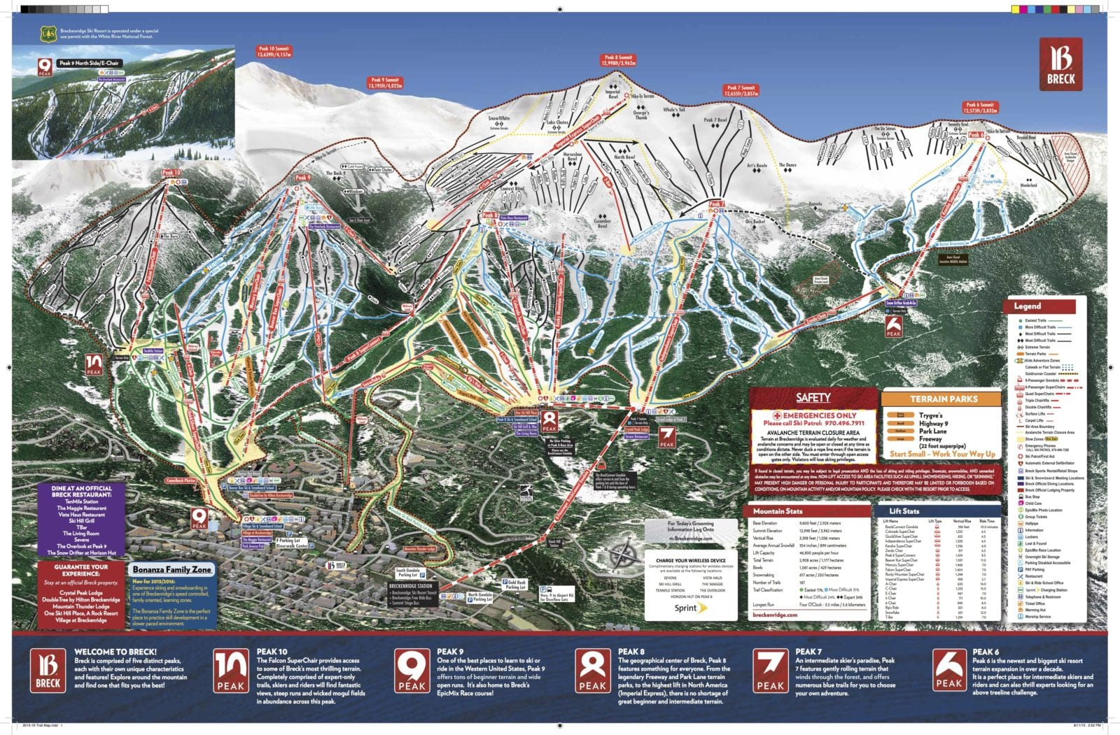 breckenridge ski resort – breckenridge, co | breck guide – terrain