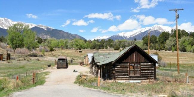 Collegiate Peaks Byway Highway 285 Home Colorado