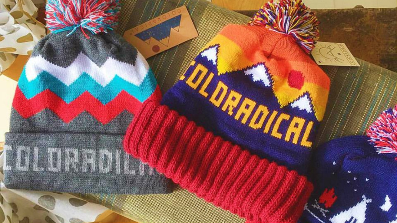 Coloradical Winter Hats