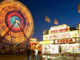 Colorado State Fair Pueblo Ferris Wheel