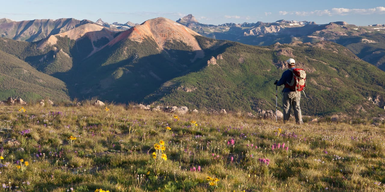 Continental Divide National Scenic Trail Hiking Colorado