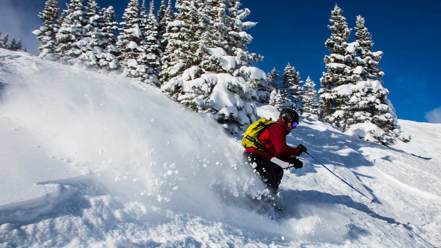 Copper Mountain Ski Resort Powder Skier