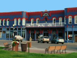 Downtown Meeker Hotel Cafe Colorado