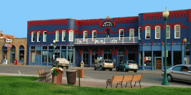 Downtown Meeker Hotel Cafe Colorado