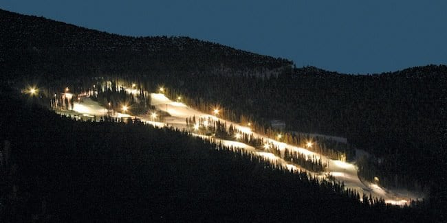 Echo Mountain Night Skiing