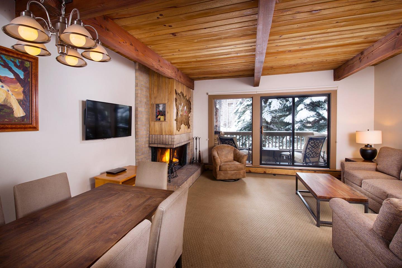 Gant Aspen Condo Living Room