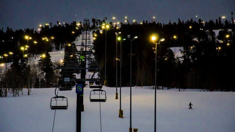 Granby Ranch Night Skiing