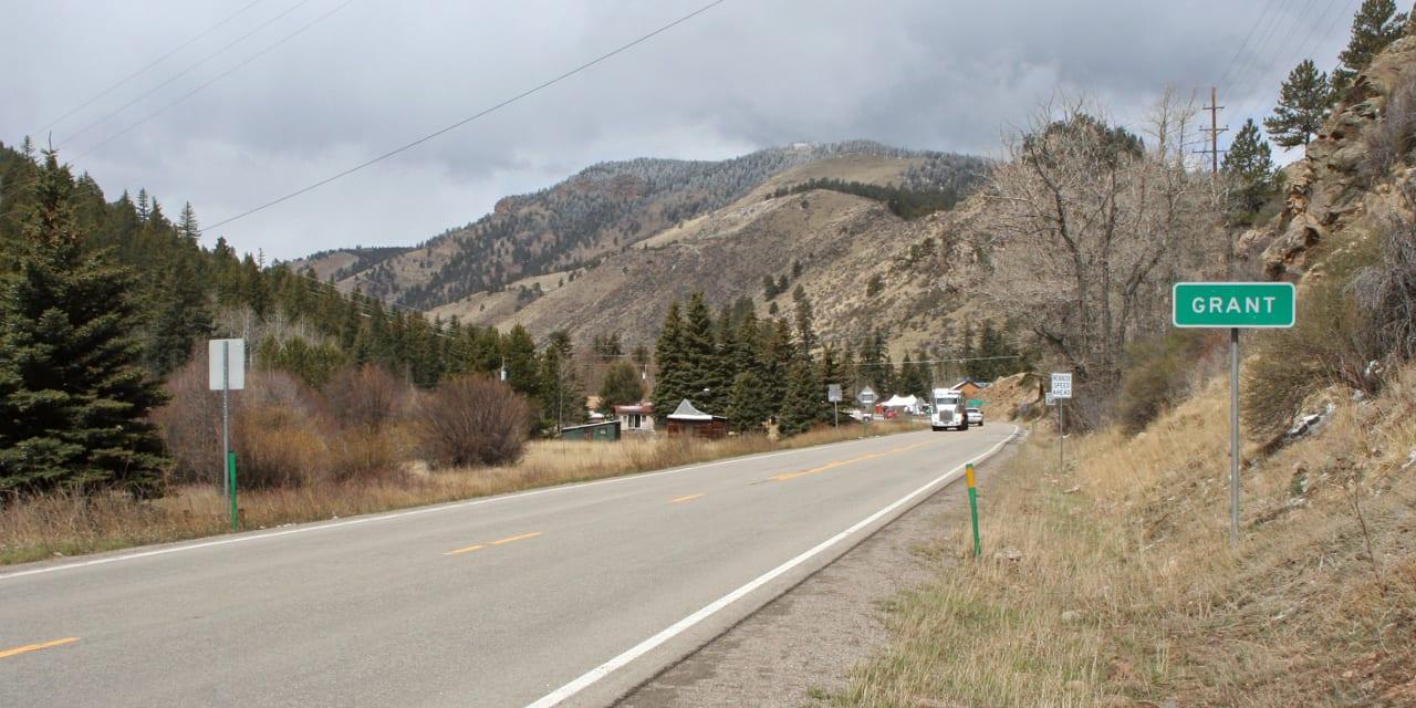 Highway 285 Grand Colorado