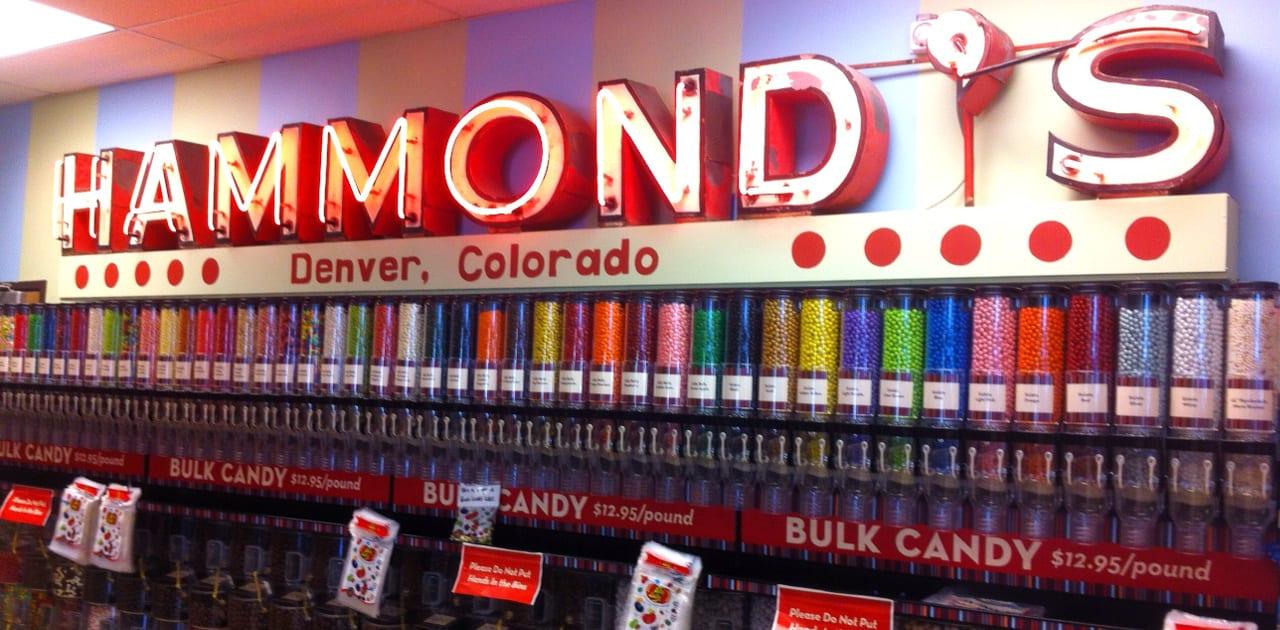 Hammond's Candies Shop Denver Colorado