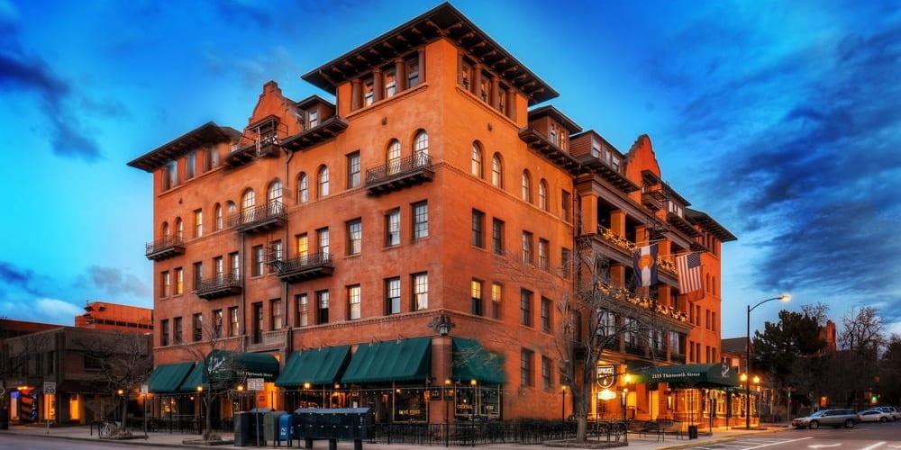 Hotel Boulderado Boulder Colorado