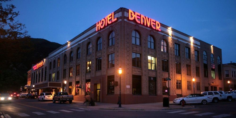 Hotel Denver Glenwood Springs Colorado