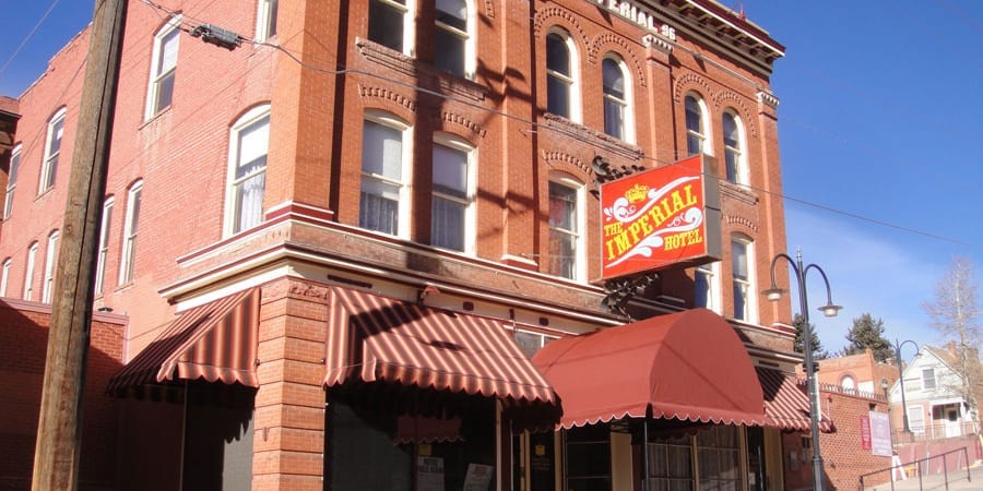 Imperial Hotel Cripple Creek Colorado