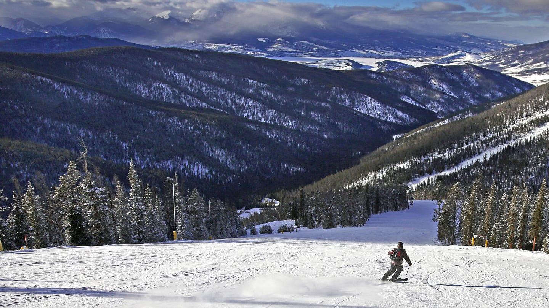 Keystone Ski Resort Starfire Run
