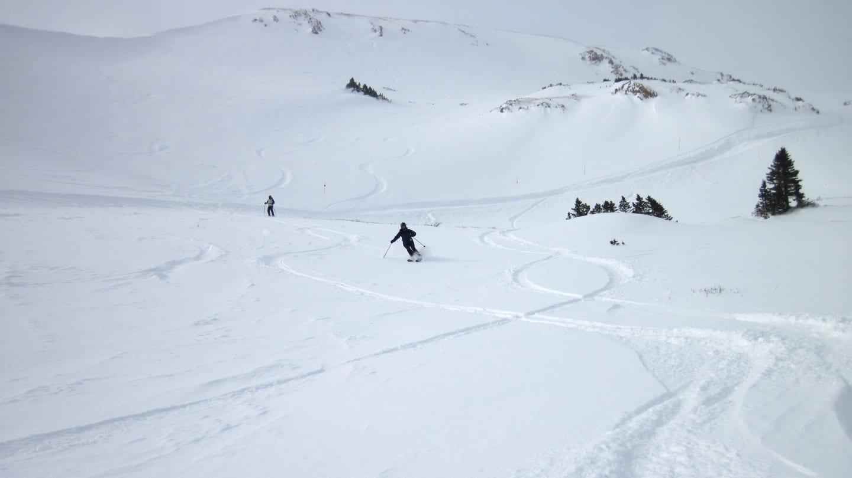 Loveland Ski Area Bowl Powder Skiing
