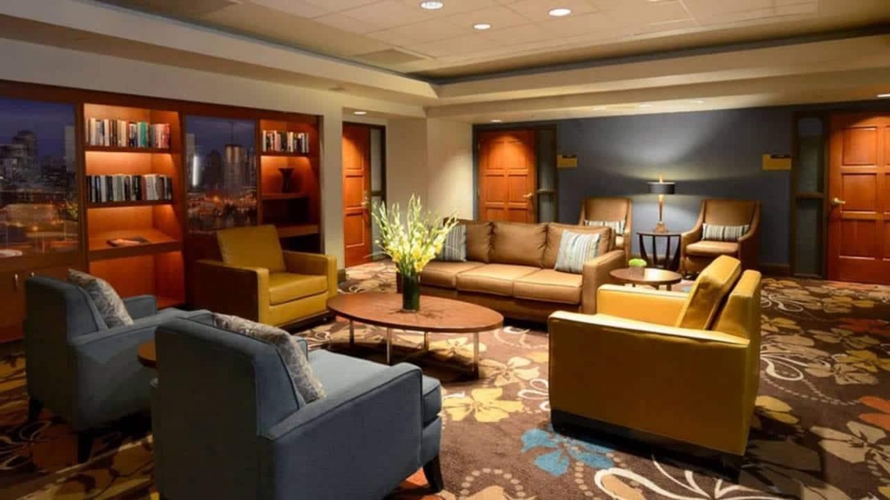 Magnolia Hotel Denver Interior Lounge